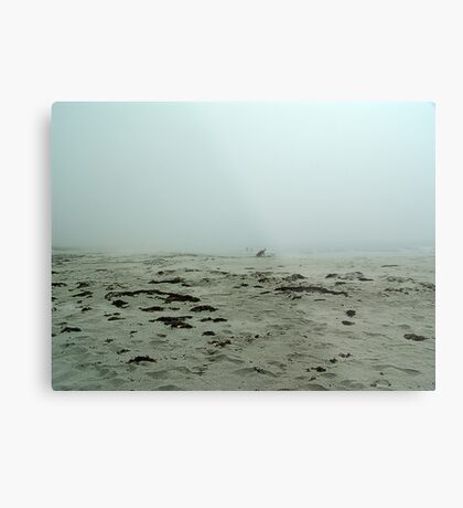 Shadows in the Fog Metal Print