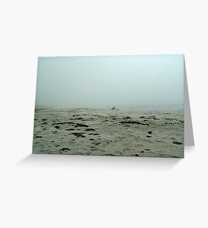 Shadows in the Fog Greeting Card
