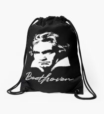Ludwig van Beethoven Portrait Classical Composer Drawstring Bag