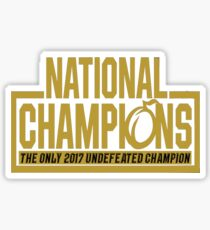 UCF 2017 National Champs Sticker