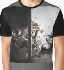 Regenbogen 6 Grafik T-Shirt