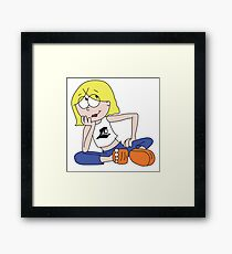 Providence College Lizzie Framed Print