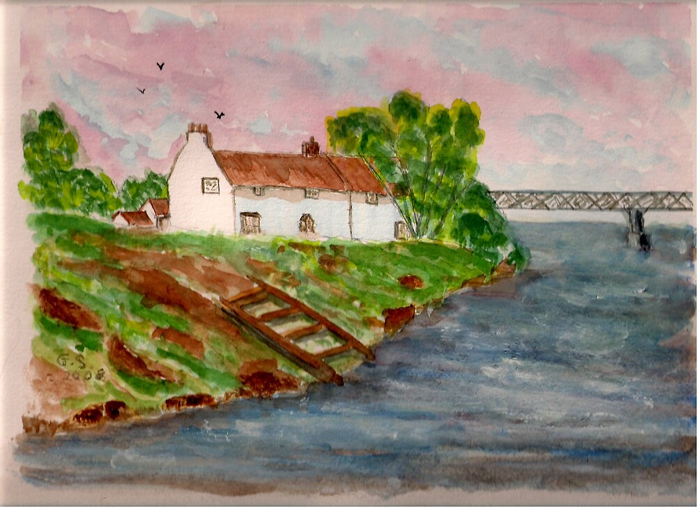 The Boathouse Inn by GEORGE SANDERSON