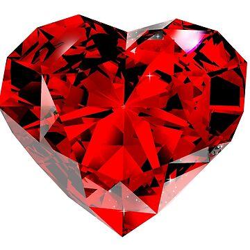 Ruby Heart  by Kiwix