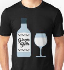 Gingle Bells Funny Drinking Christmas Unisex T-Shirt