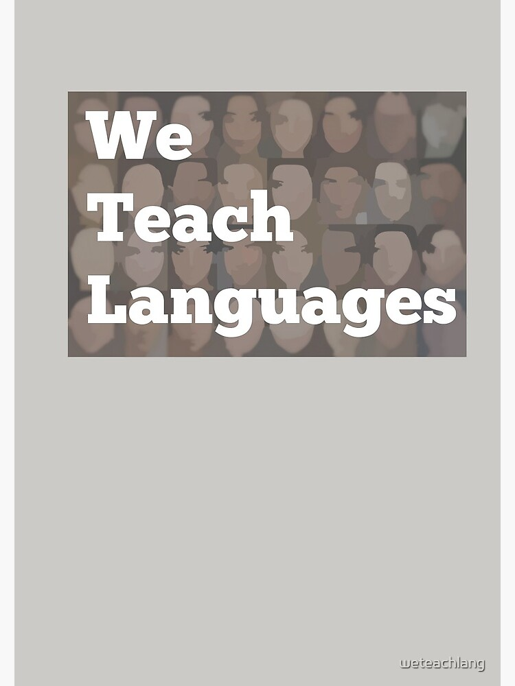 We Teach Languages Logo Swag by weteachlang
