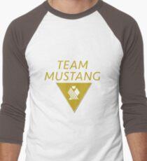Team Mustang Men's Baseball ¾ T-Shirt