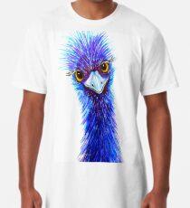 "Quirky Emu - ""Hi there!"" Long T-Shirt"