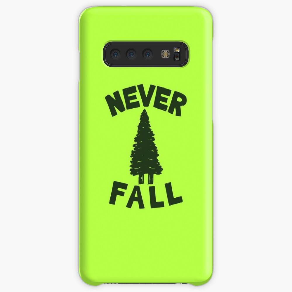 NEVER F\LL Case & Skin for Samsung Galaxy
