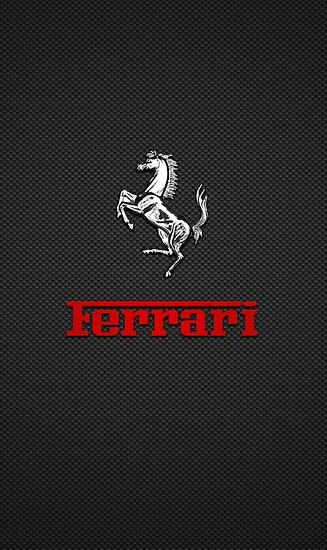 ferrari car logo posters by sarahgrinder redbubble