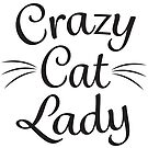Crazy Cat Lady - Black by catloversaus