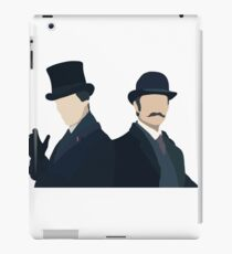 Sherlock Holmes and John Watson iPad Case/Skin