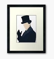 Sherlock Holmes, Christmas Special Framed Print