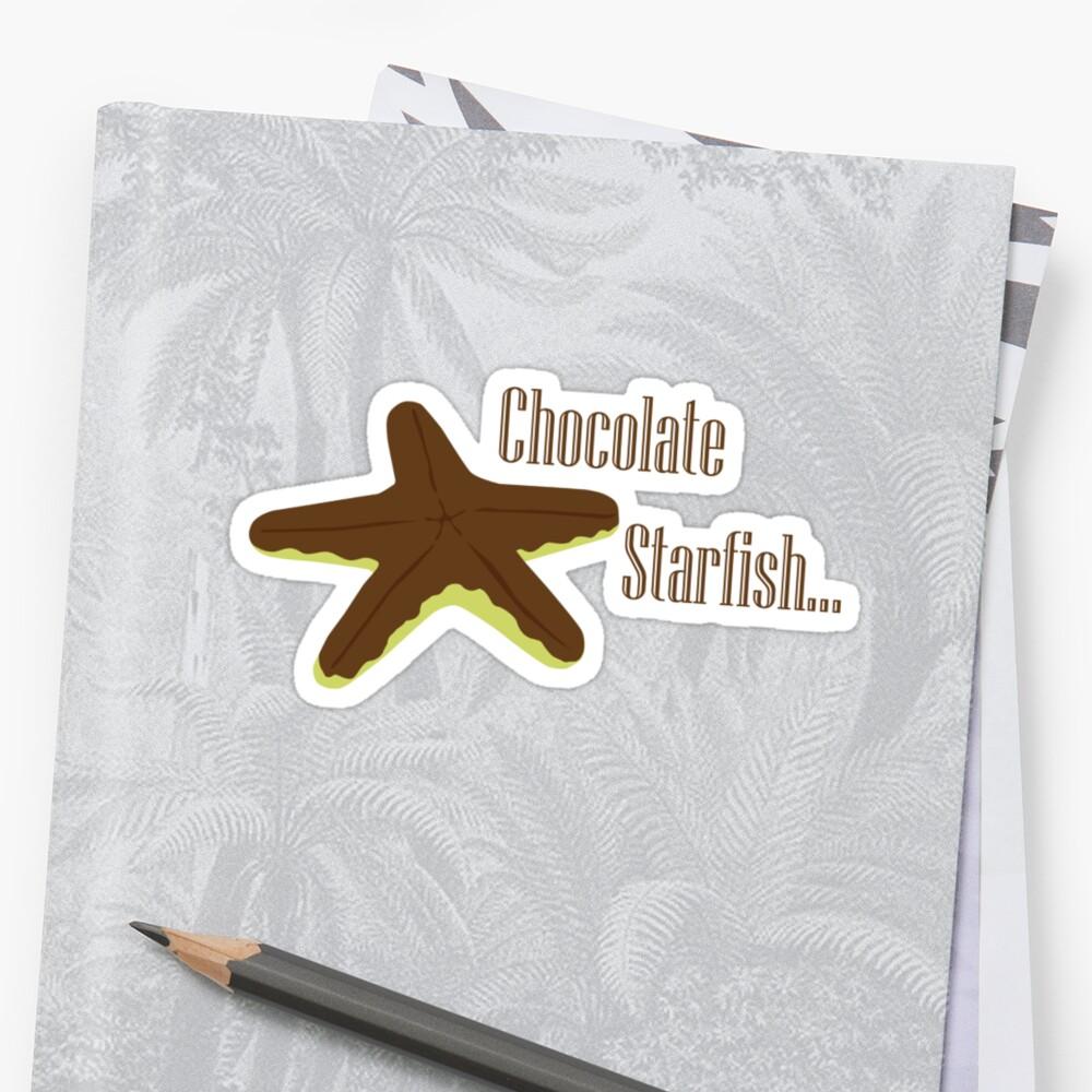 Chocolate Starfish by Marc Payne Photography