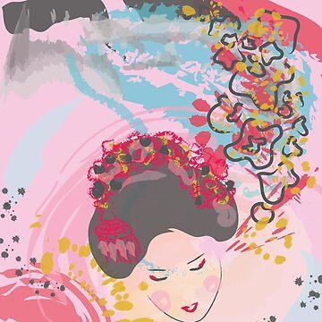Geisha Girl by marsenroute