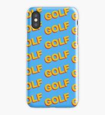 GOLF | Tyler The Creator iPhone Case/Skin