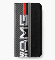 mercedes benz amg logo carbon iPhone Wallet/Case/Skin