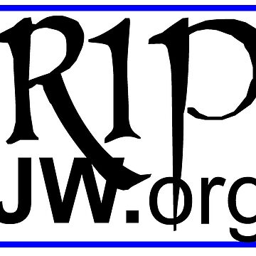 Large RIP JW.ORG FOR ACTIVIT'S WORK by chakragyspsy
