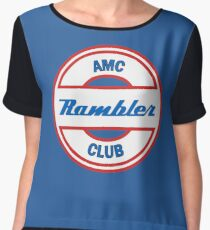 AMC Rambler Club Chiffon Top