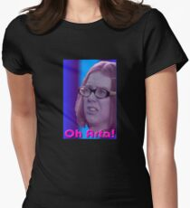Oh Arfa! - Olive - On The Buses Women's Fitted T-Shirt