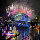 What A Blast - Sydney NYE 2017 #2 by Philip Johnson