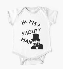Shouty Man One Piece - Short Sleeve