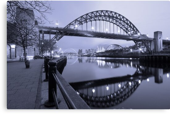 The Tyne Bridge, Newcastle by Rob Cole