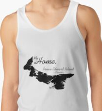 My Home, Prince Edward Island Canada, Black Tank Top