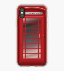 London Red Phone Booth Box  iPhone Case