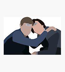 Sherlock Holmes and John Watson Bachelor Party Photographic Print
