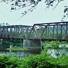 Hancock Bridge - New York by clarebearhh