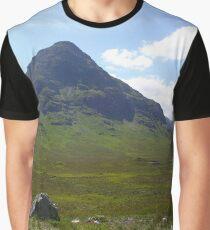 A Glen Coe Mountain Graphic T-Shirt