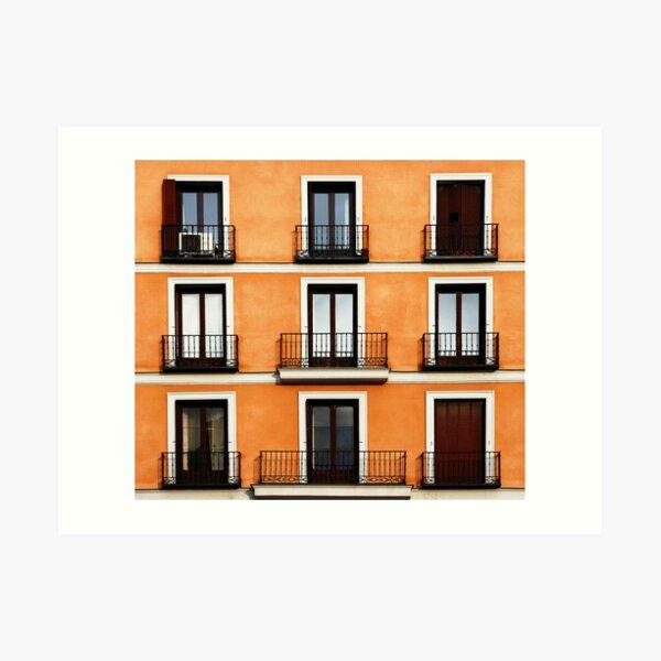Madrid, Spain. Art Print