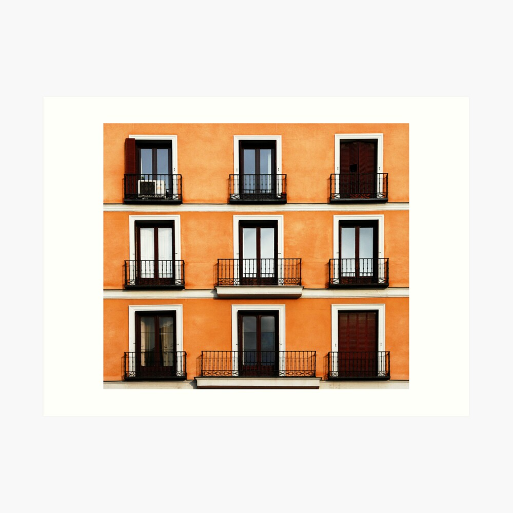 Madrid, Spain. Art Print
