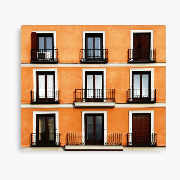 Madrid, Spain. Canvas Print