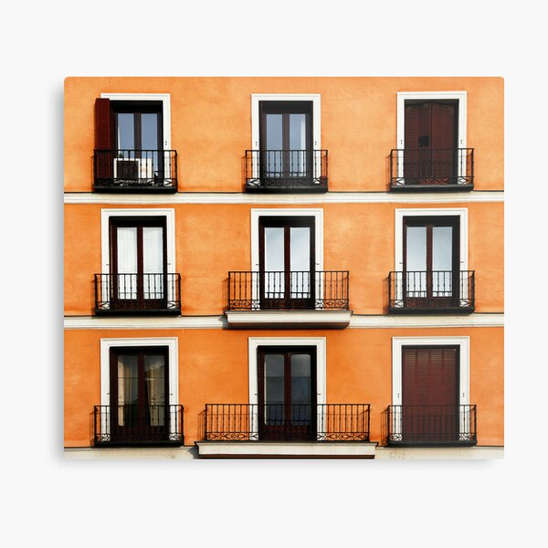 Madrid, Spain. Metal Print