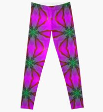 Frosted Cranberry Glass Leggings