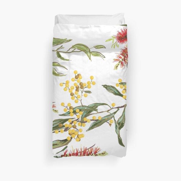 Australian Flowers Duvet Cover