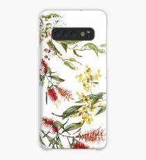 Australian Flowers Case/Skin for Samsung Galaxy