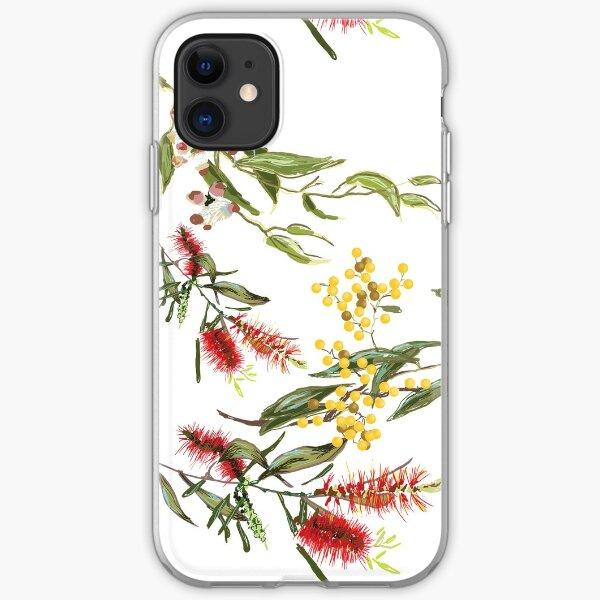 Australian Flowers iPhone Soft Case