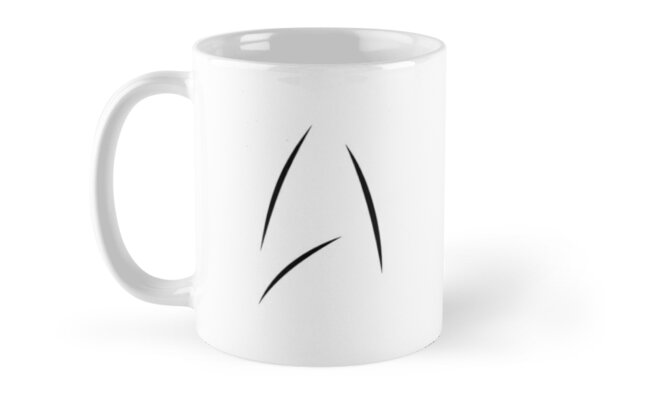 Star Fleet Mug by mrsmug