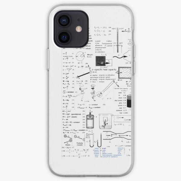 Physics Equations - Physics Formulas iPhone Soft Case