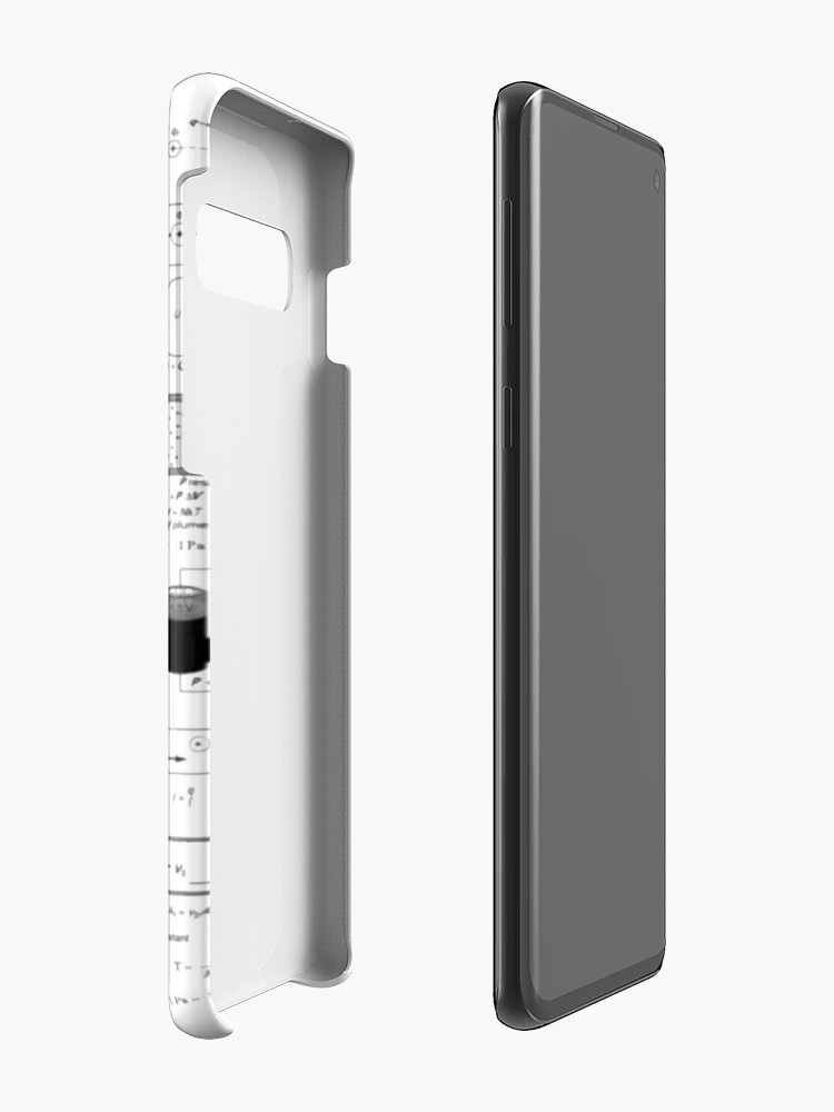 Alternate view of Physics Equations - Physics Formulas Case & Skin for Samsung Galaxy