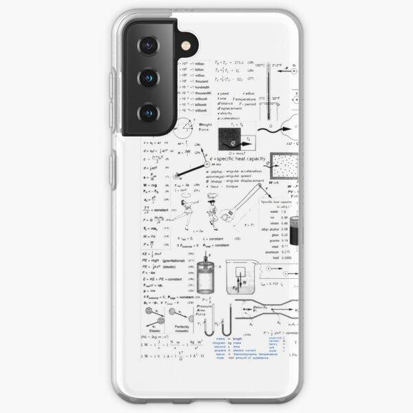 Physics Equations - Physics Formulas Samsung Galaxy Soft Case