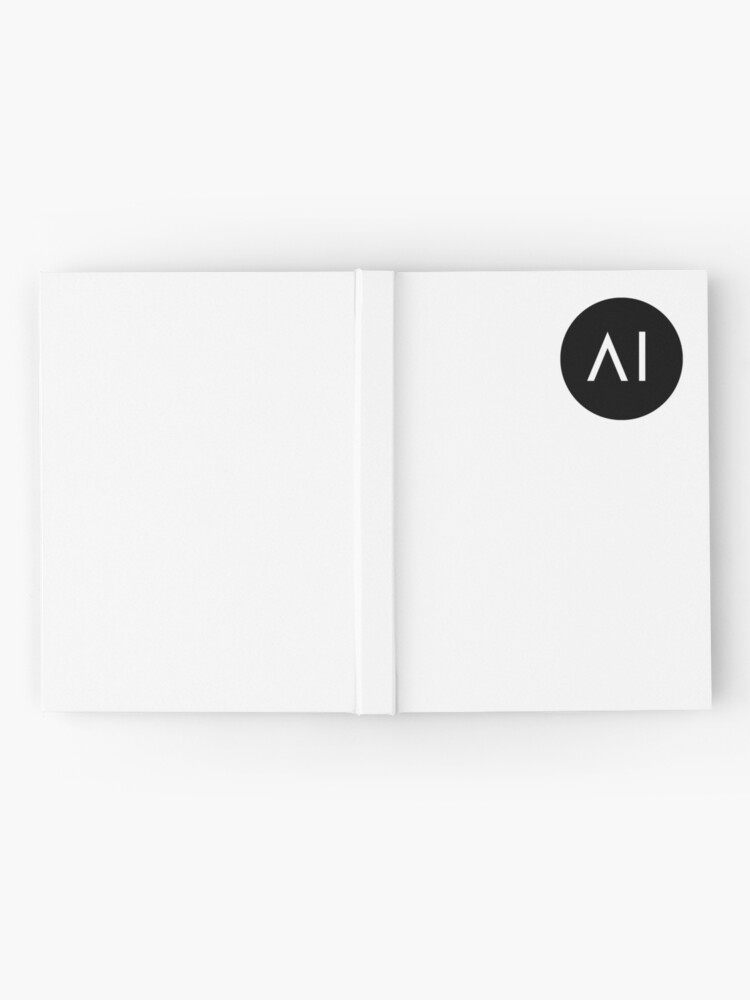 Alternate view of artificial intelligence Hardcover Journal