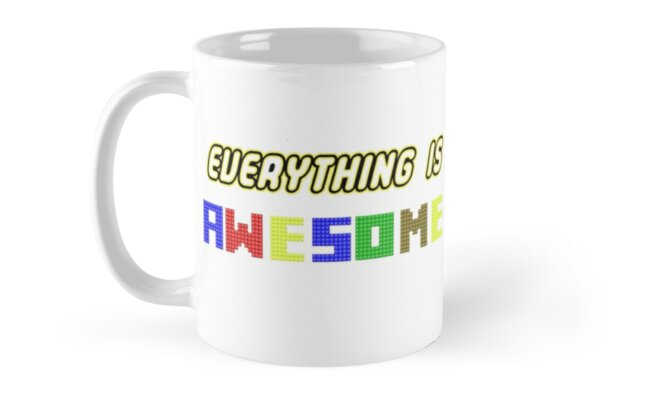 Everything Is Awesome! Classic Mugs