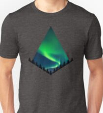 Aurora Borealis / Northernl Lights Unisex T-Shirt