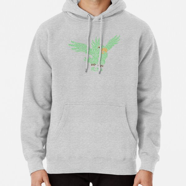 """Pichu The Parrot in """"The Mysterious Cities of Gold"""" Pullover Hoodie"""