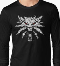 Witcher 3 - The White Wolf Long Sleeve T-Shirt