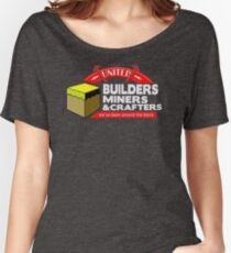 NEW WH24 Buiders Miners And Crafters Trending Women's Relaxed Fit T-Shirt
